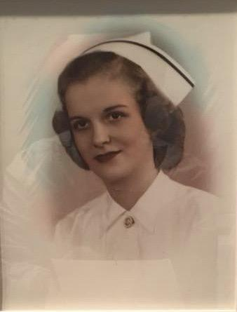 Nurse Virginia Edwards