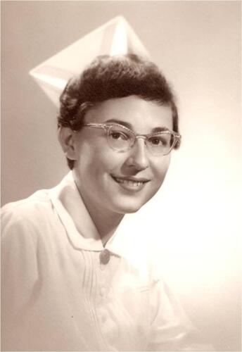 Nurse Doris Duchac