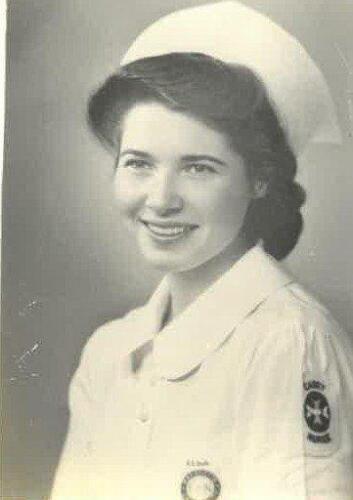 Nurse Ruth E. Wolf