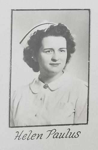 Nurse Helen Ziehr