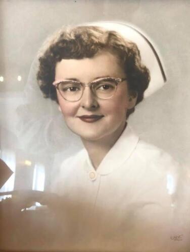 Nurse Delores Schouten