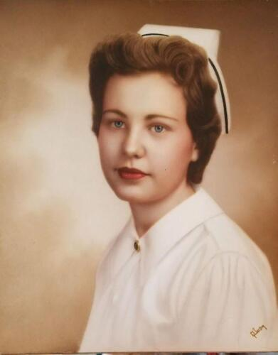 """Nurse """"Jeri"""" Geraldine Kortsch"""