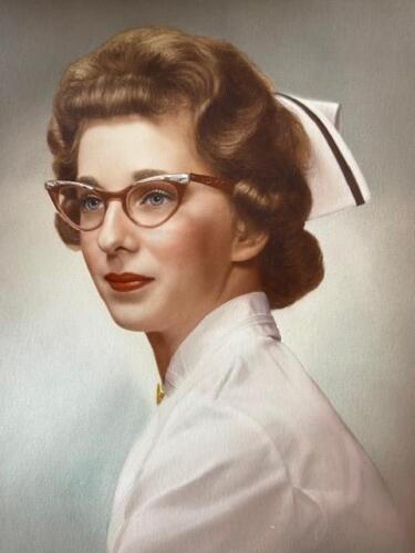 Nurse Janet Krueger