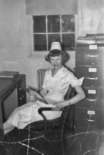 """Nurse Patricia """"Pat"""" Wrobel"""