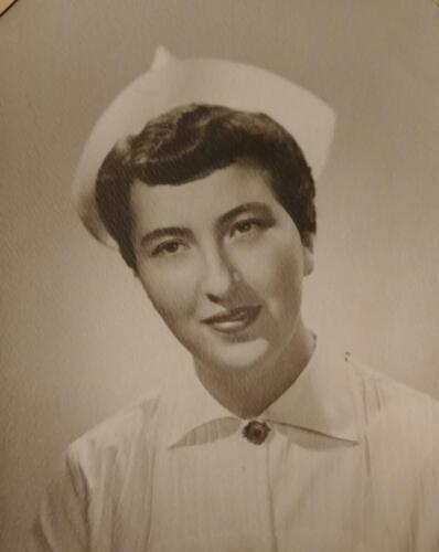 Nurse Marjorie L. Panzenhagen