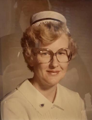 Nurse Marlene Holtz