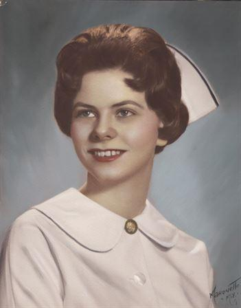 Nurse Marcia Bjorkquist