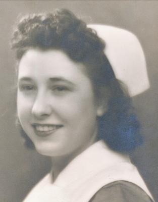 Nurse Leona M. Waraksa